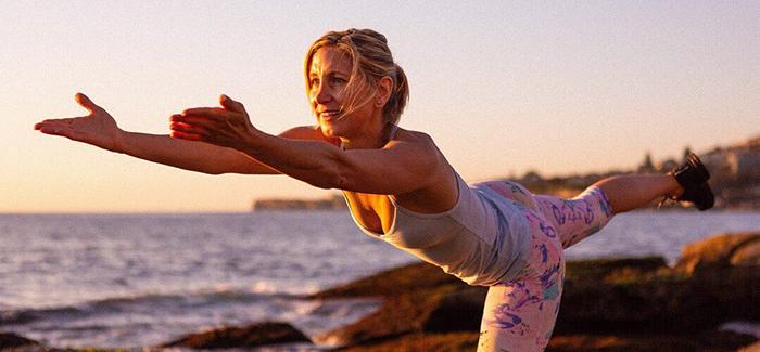 Mary Bacon, fitness and training guru